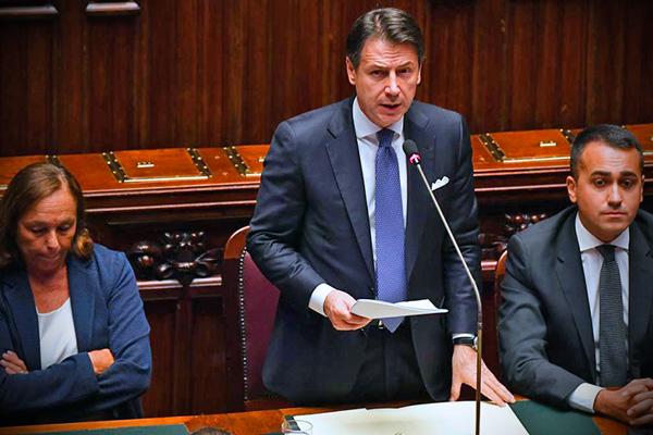 Lamorgese Conte Di Maio alla Camera per fiducia Governo